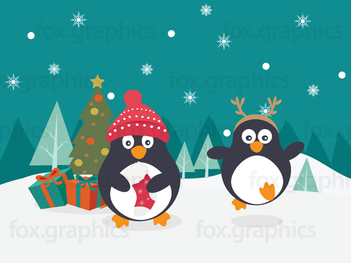 penguins-christmas-tree